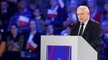 Poland's Kaczynski condemns gay pride marches as election nears
