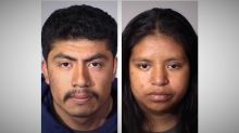 California couple arrested after strangling newborn baby in hospital, police say