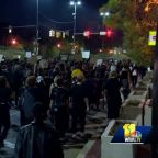 Baltimore demonstrators march against decision in Breonna Taylor case