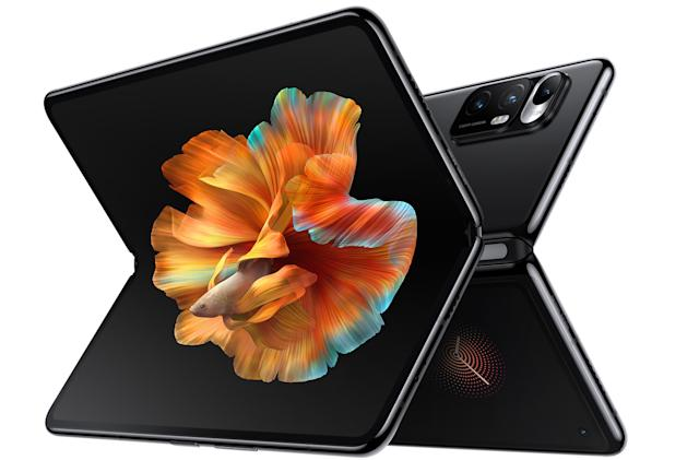 Xiaomi's first foldable phone has a shape-shifting 'liquid lens' camera
