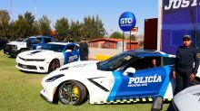 Mexican police are fighting crime with supercars seized from gangs