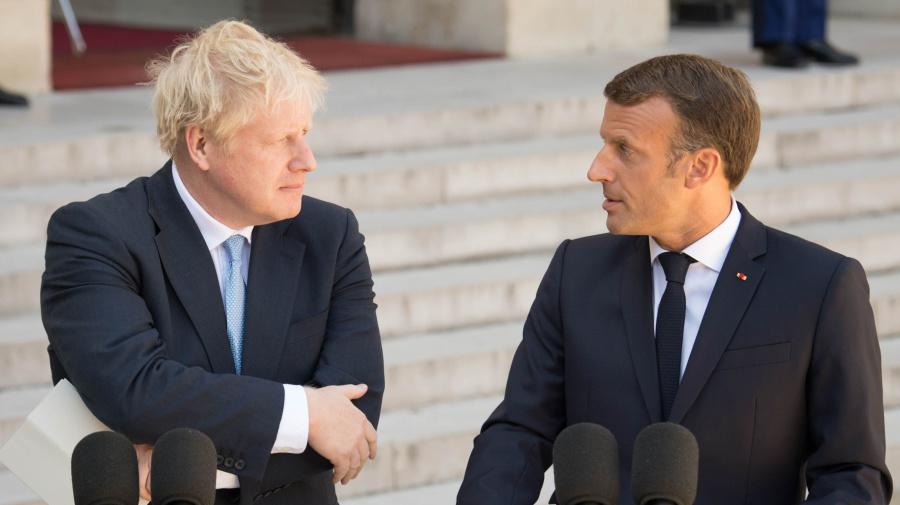 Macron tells Johnson backstop is 'indispensable'