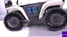 CES 2018: Honda's D18 concept robot