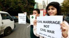 Lebanese demand civil marriage on home soil