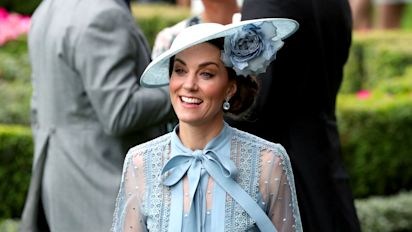 Kate's fans gush over 'perfect' Royal Ascot outfit