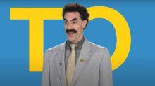 Sacha Baron Cohen returns in first teaser trailer for 'Borat' sequel