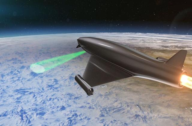 Atmospheric 'lens' could shield troops from laser weapons