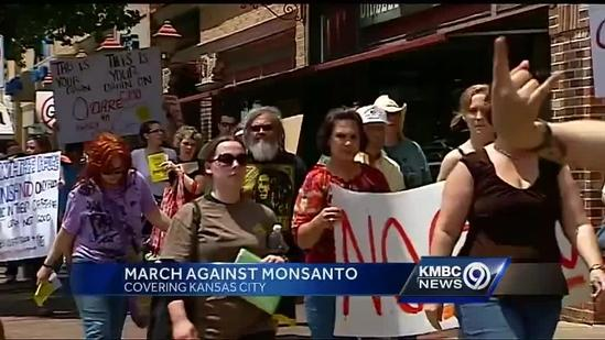 Protests target Monsanto in KC, elsewhere