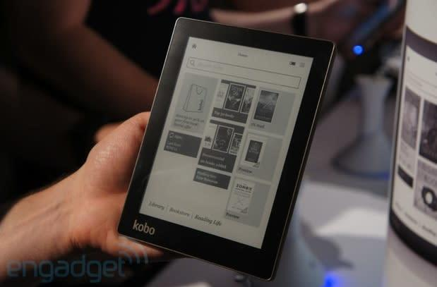 Kobo shows off its Aura e-reader, we go hands-on (video)