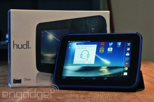 Tesco cuts the price of its original Hudl tablet to £79