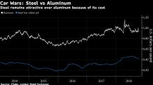 Car Wars: Steel Getting Stronger, Lighter to Curb Aluminum Rise
