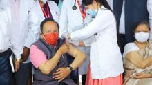 Coronavirus LIVE Updates: Harsh Vardhan Gets Covaxin, Says Vaccines Will Prove to be 'Sanjeevani'