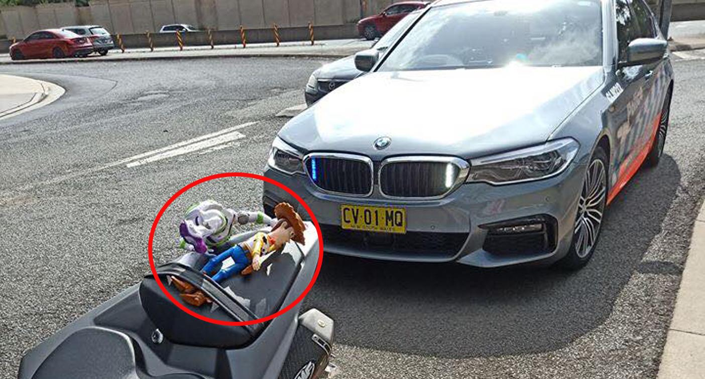 'To infinity and beyond': Cop's love of Toy Story saved motorbike rider from fine