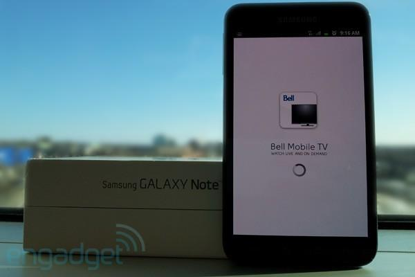 Engadget Giveaway: win a Samsung Galaxy Note, courtesy of Bell Canada
