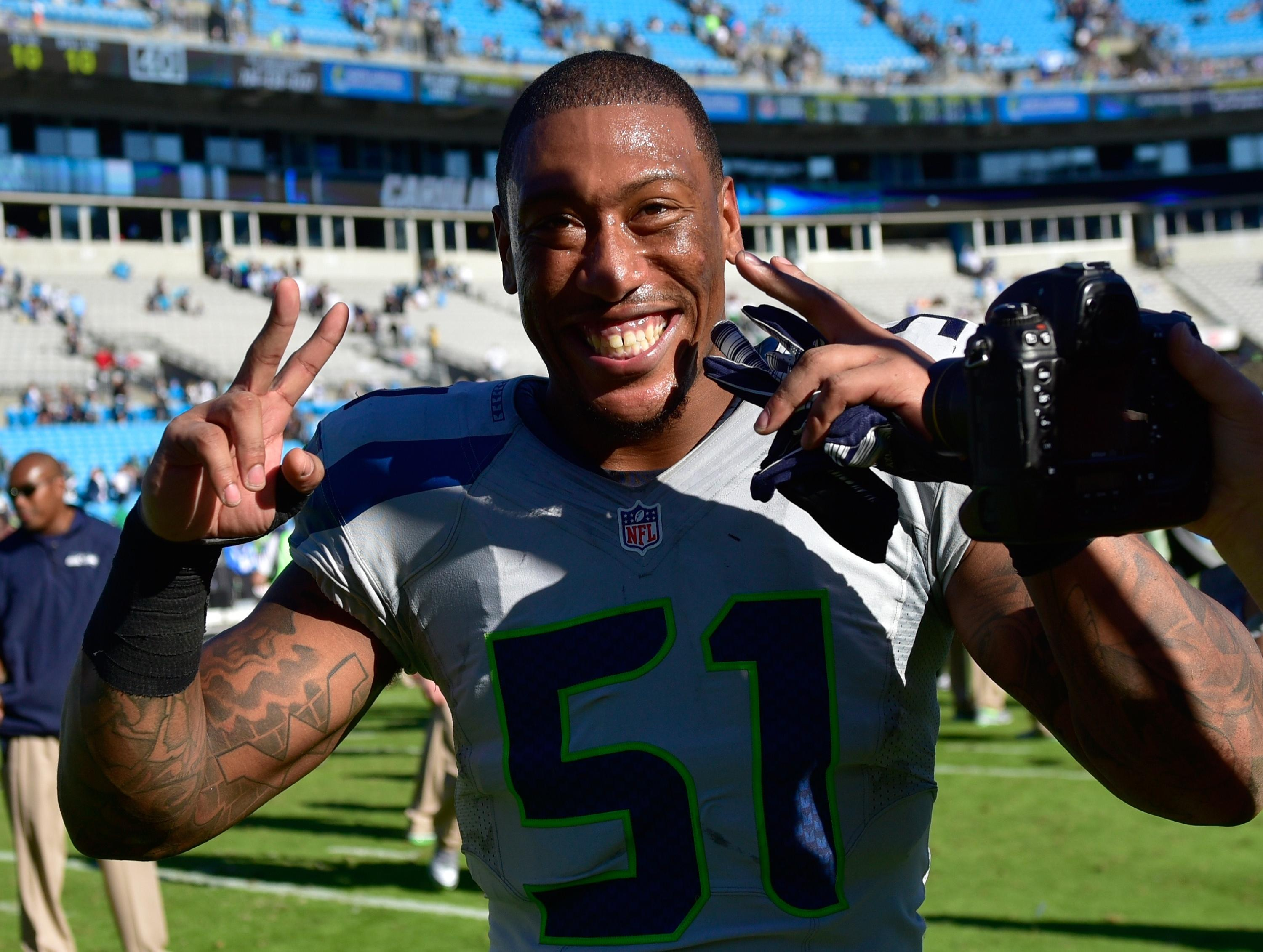 Bruce Irvin regrettable April Fools Day joke is about ting a DUI