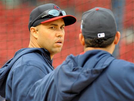 MLB: World Series-St. Louis Cardinals Workout