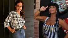 Gretchen minimiza desentendimento com Sula Miranda: 'Não tem briga entre eu e ela'