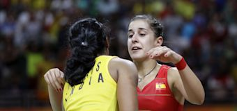 Photos: Sindhu shows what sportsmanship is, wins Olympic silver