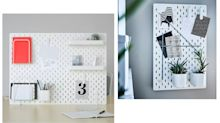 Stylish organisiert mit Pegboards: Die besten Ideen für die Lochplatte von Ikea