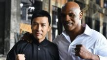 """Donnie Yen says fight scene with Mike Tyson in """"Ip Man 3"""" was near-death experience"""