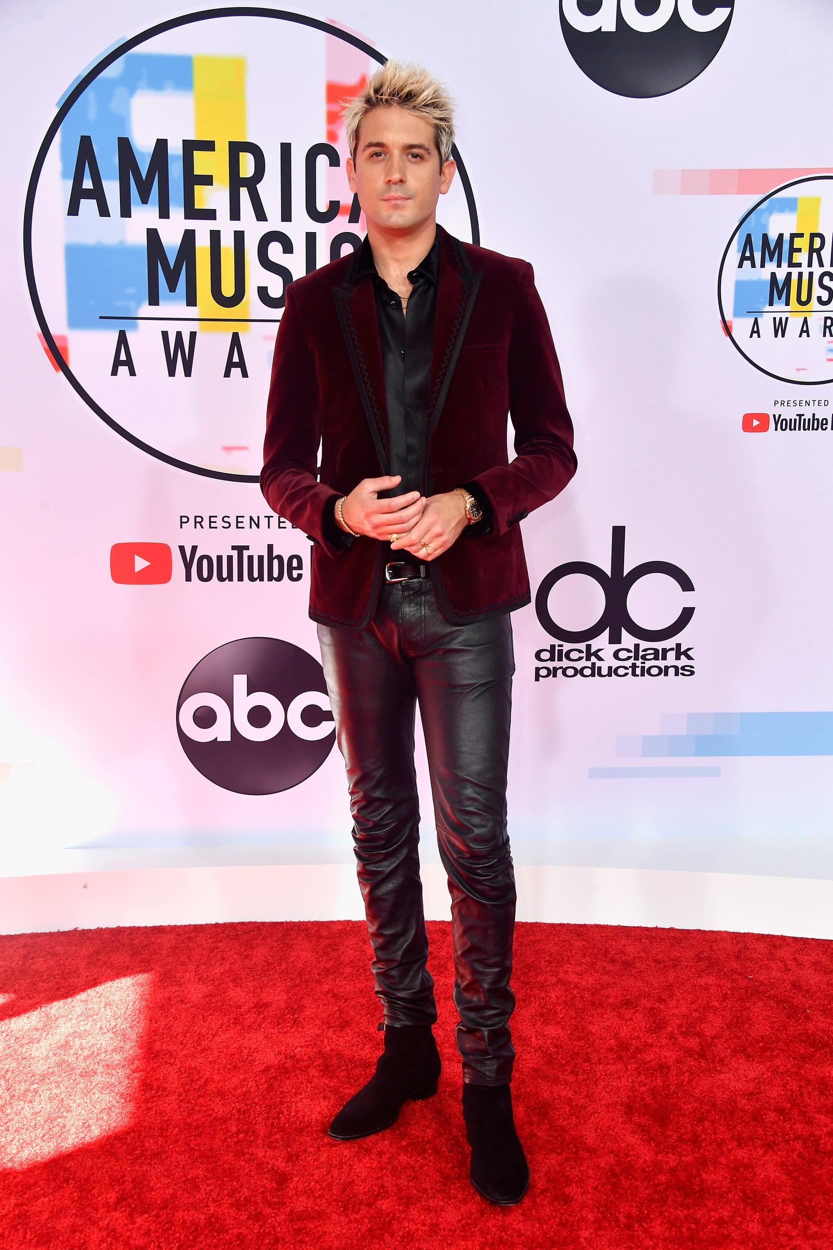 LOS ANGELES, CA - OCTOBER 09:  G-Eazy attends the 2018 American Music Awards at Microsoft Theater on October 9, 2018 in Los Angeles, California.  (Photo by Frazer Harrison/Getty Images)