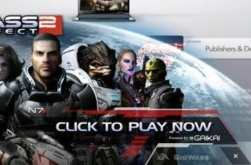 Gaikai is live with streaming demos of Mass Effect 2, Dead Space 2 and more