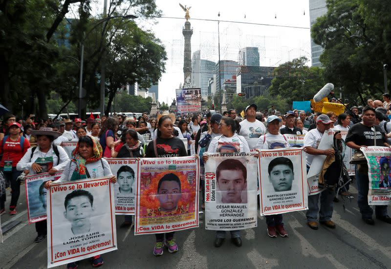 Mexico finds remains of another missing student, attacks 'false' history of events