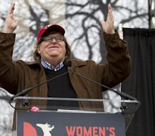 Michael Moore says there is no point mocking Donald Trump but instead people should resist