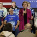 Warren falls behind in Iowa but wins coveted newspaper endorsement