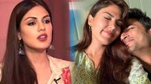 Rhea Chakraborty accepts her miastake of loving  Sushant Singh Rajput !