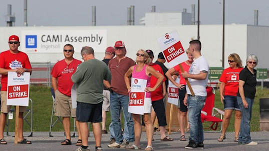Up to 255 works to be laid off amid GM strike