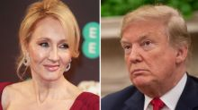 J.K. Rowling Can't Stop Laughing At Trump's Boast About His Expert Writing Skills