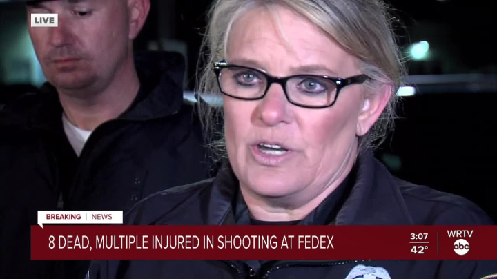 8 people shot dead at FedEx facility in Indianapolis