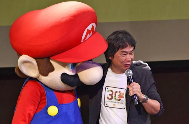 Shigeru Miyamoto will co-produce a 'Mario' animated movie
