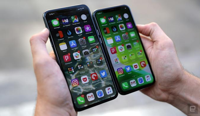 Apple iPhone 11 Pro and 11 Pro Max