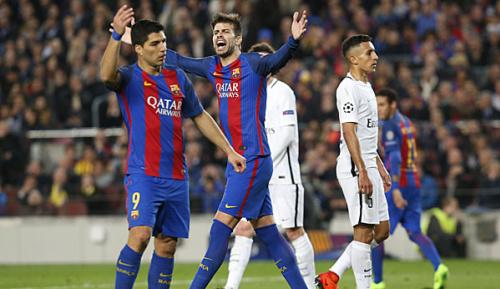 """Champions League: Pique: """"Dann ist das 6:1 nichts wert"""""""