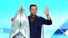 Justin Timberlake Shares Words of Wisdom at Teen Choice Awards