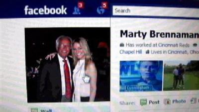 Reds Announcer Gets Fired Up Over Fake Facebook Page