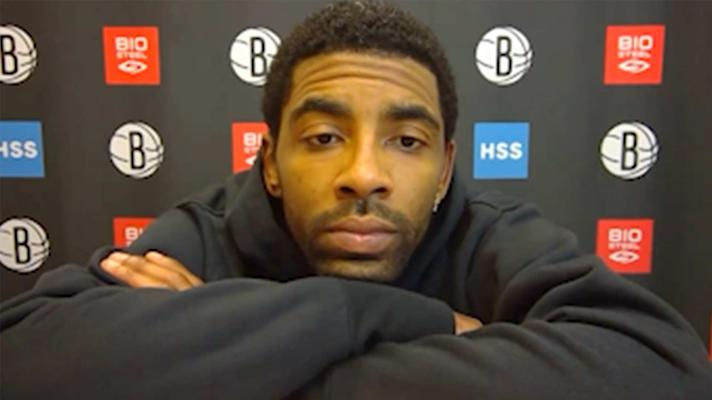 Kyrie Irving on his extended absence: 'It's time to move on. Happy to be back'