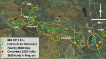 Maple Gold Mobilizes Drill Rig to NW Zone and Provides Drill Campaign Update