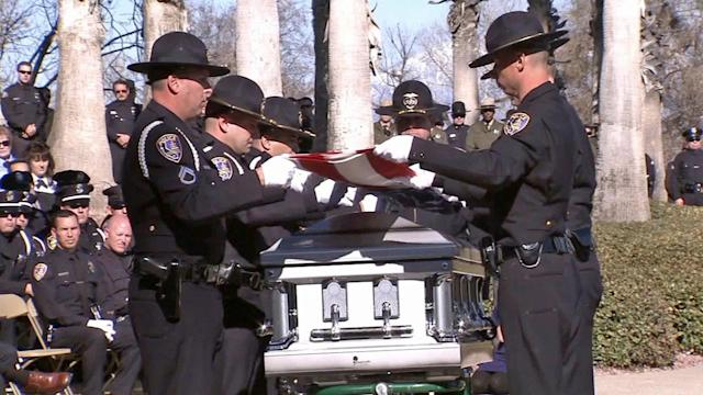 Final farewell to Officer Michael Crain