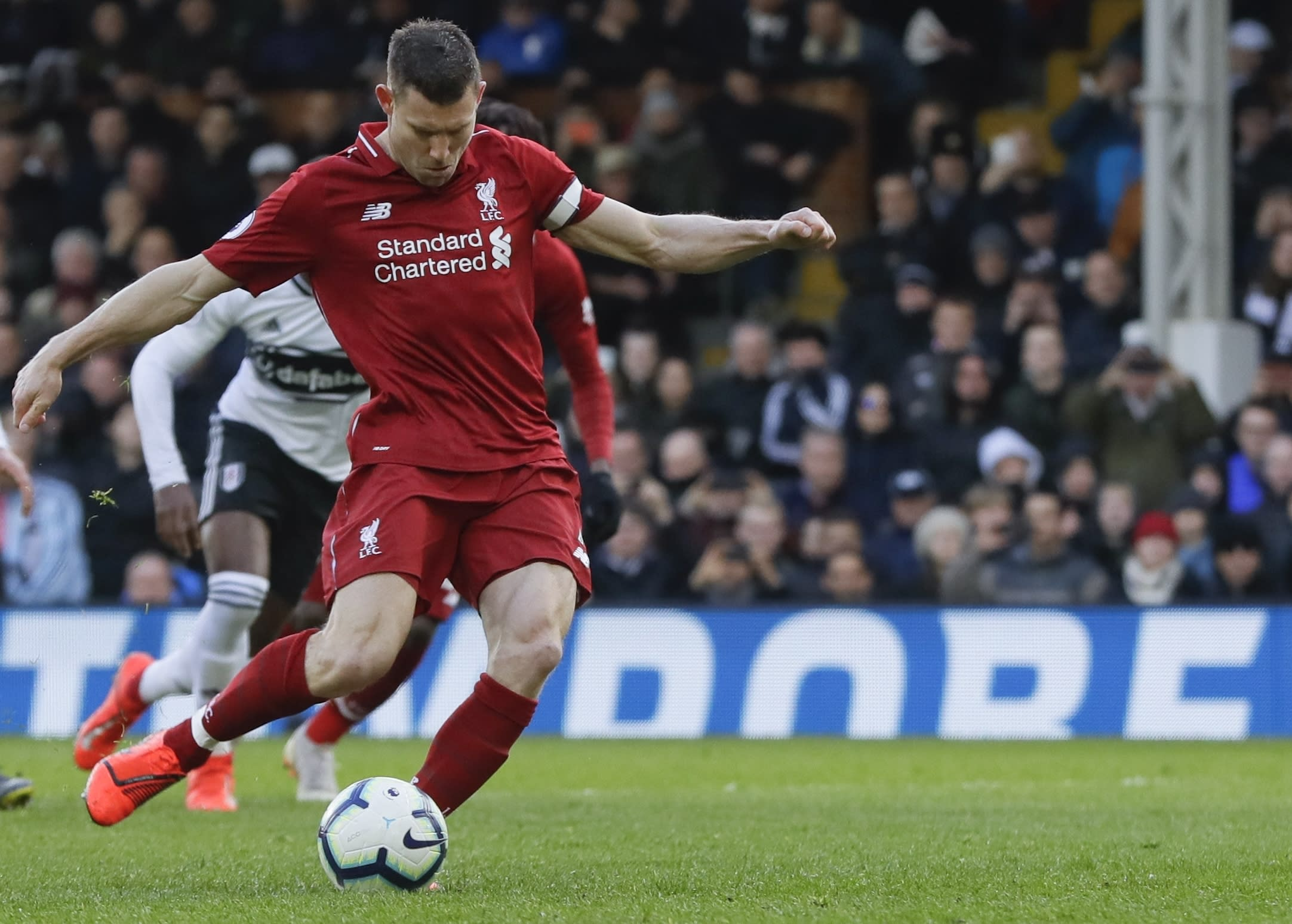 Liverpool Back Atop Premier League With 2-1 Win At Fulham