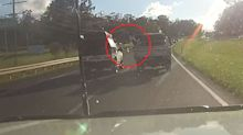 'Bloody idiots': Fury over dangerous act on road