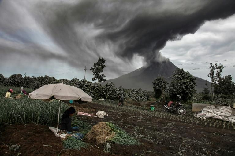 Indonesia's Mt Sinabung erupts again