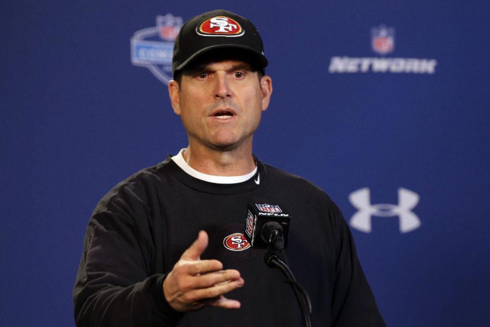 Browns coach dismisses Harbaugh report as 'noise'
