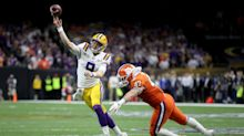 Joe Burrow says he suffered torn rib cartilage during College Football Playoff championship game