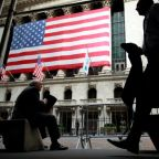 Wall Street retreats from record as industrials, tech lag