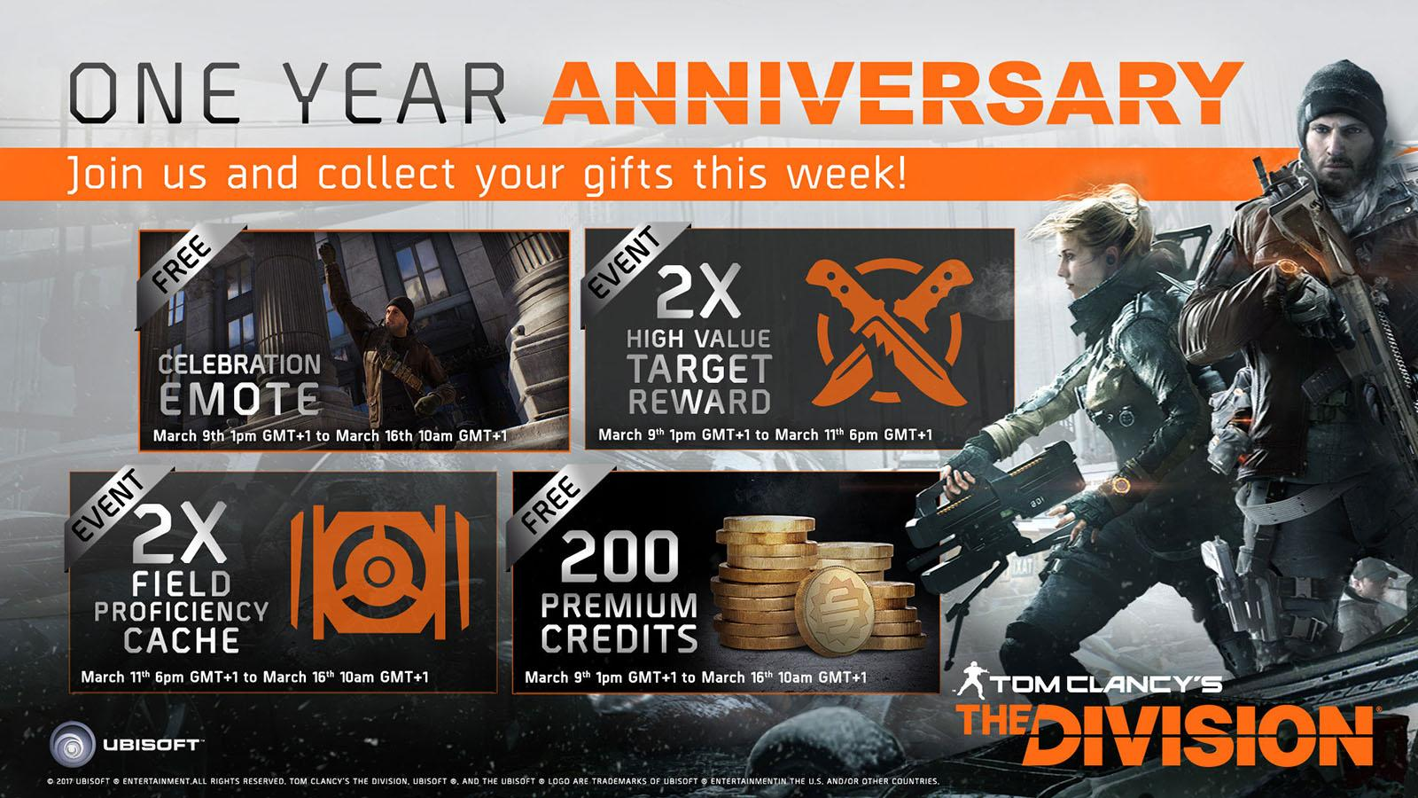 Ubisoft reveals year two 'The Division' expansions and gifts