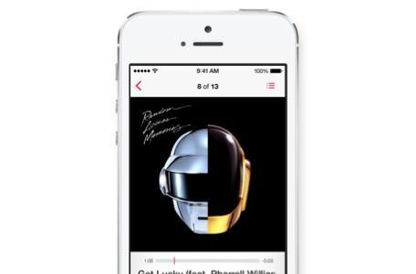 Music app gets a new design in iOS 7