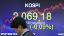 World stock markets stabilize as focus turns to Fed